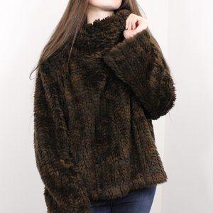 Parkhurst Mink Faux Fur Pullover
